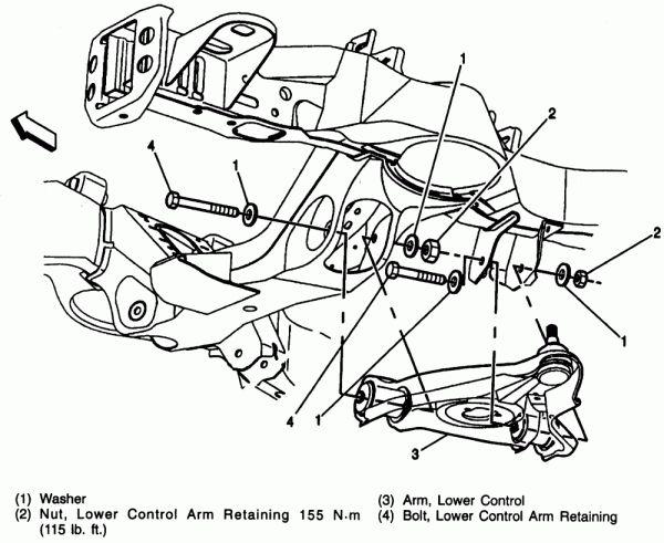 16  1997 chevy truck front suspension diagram