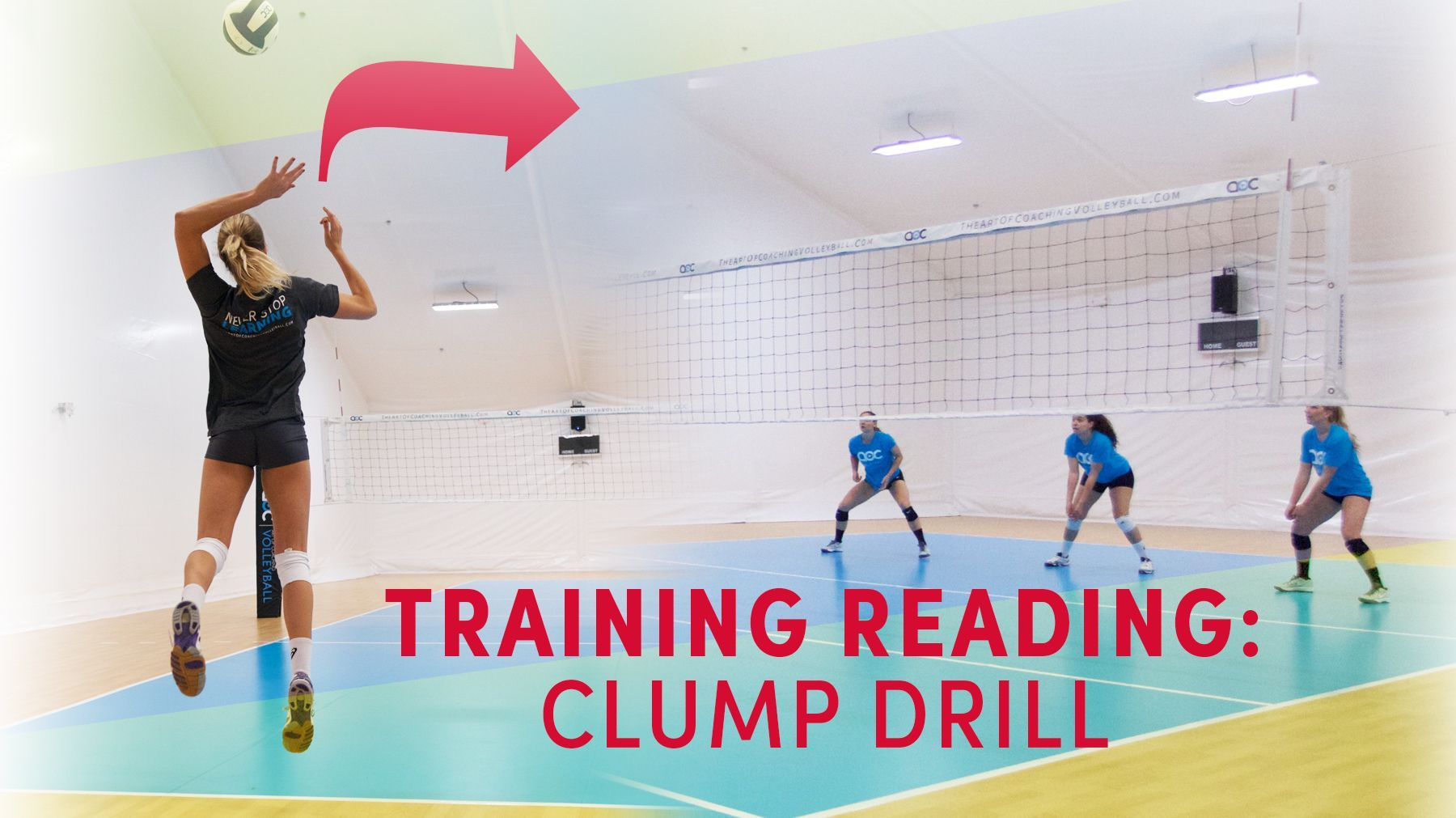 Training Reading In Serve Receive Clump Drill The Art Of Coaching Volleyball Coaching Volleyball Volleyball Drills Volleyball Skills