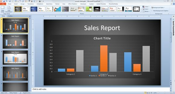 How to print slides with notes in #PowerPoint #presentations #tips - graphs and charts templates