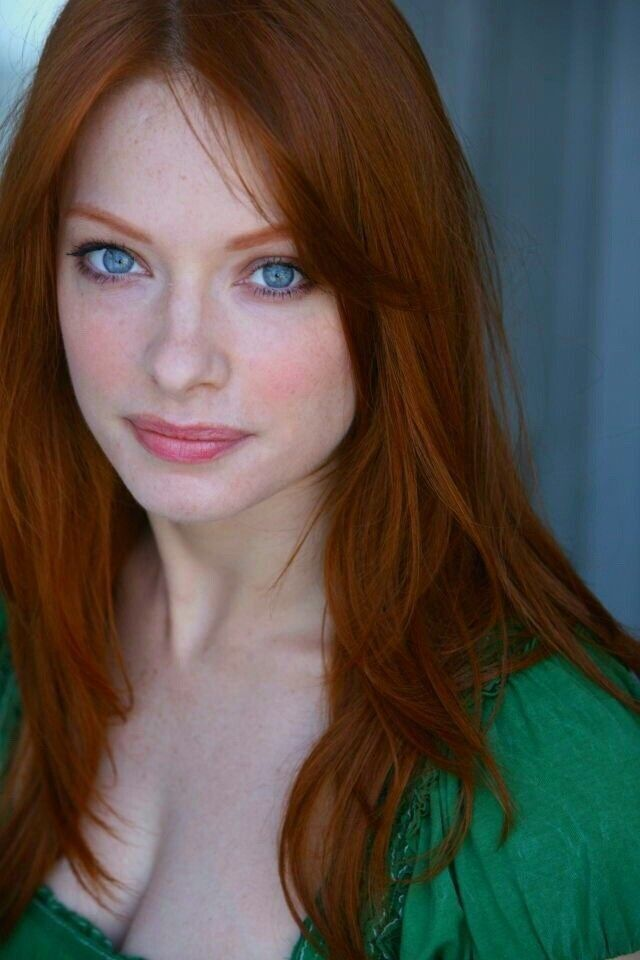 Blue Eyes Redhair Freckles Red Hair Woman Beautiful Red Hair Red Haired Beauty
