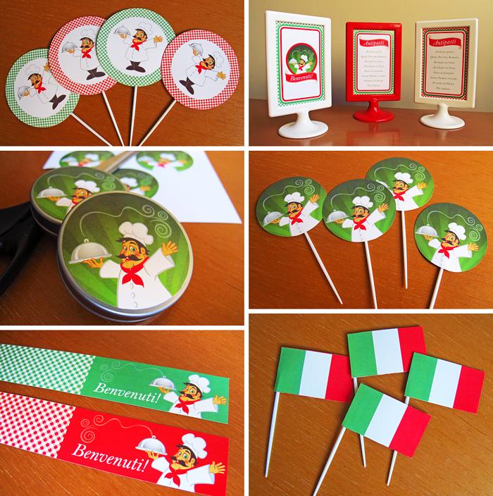 Ideas Para Decorar Fiesta Italiana