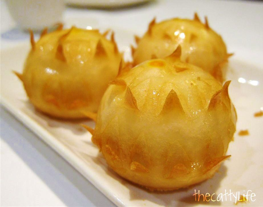 Dim Sum Pearl Liang The Answer To This Gloom Custard Buns Food Foodie