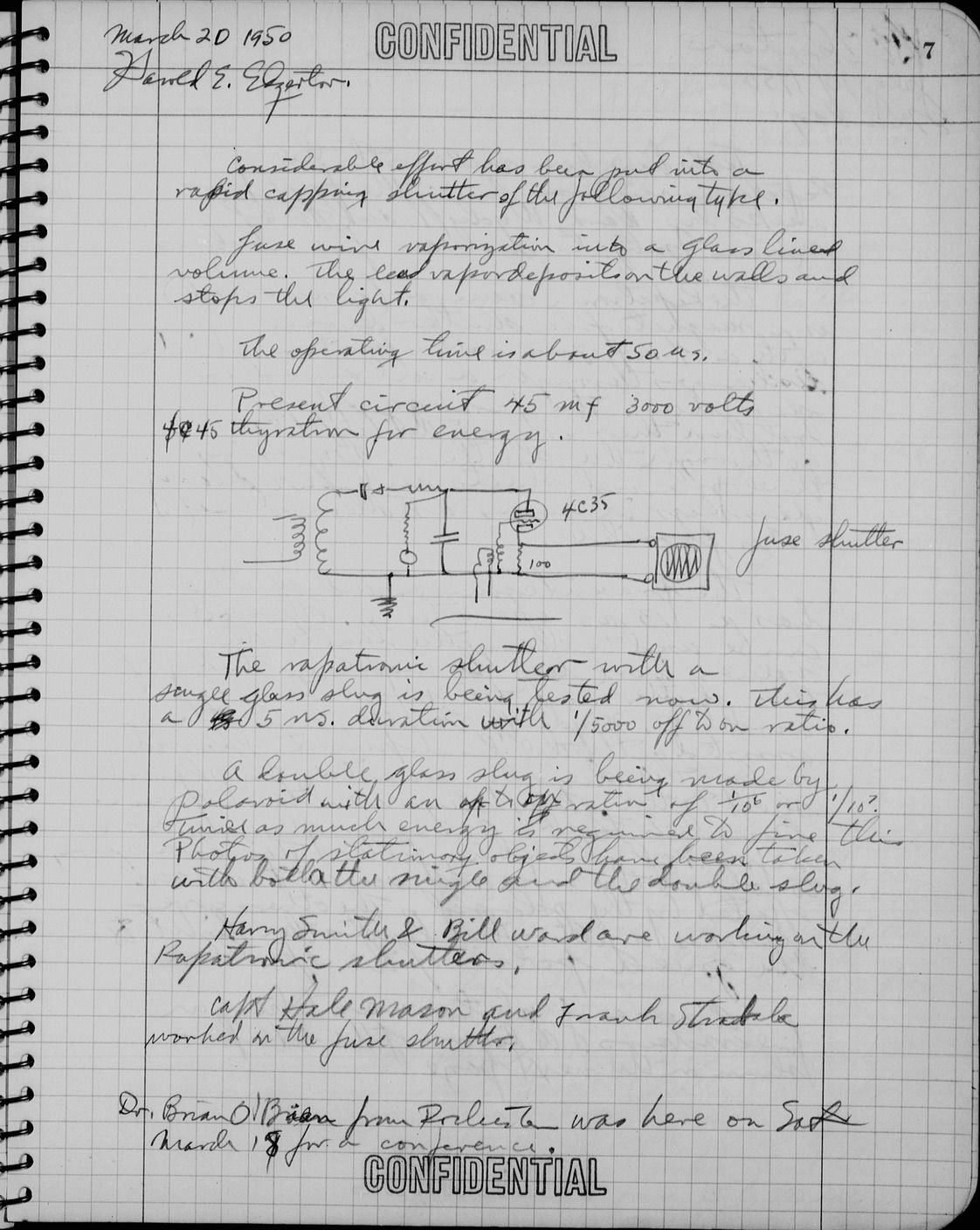 Real-life Lab-notebook design w/ special requirements for IP ...