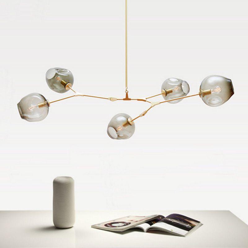 Cheap Nordic Cristal moderno Colgante de Luz Comedor Luz Colgante de ...