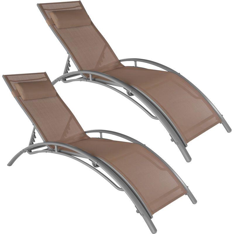 Transat, bain de soleil, chaise longue | Rattan sun loungers ...