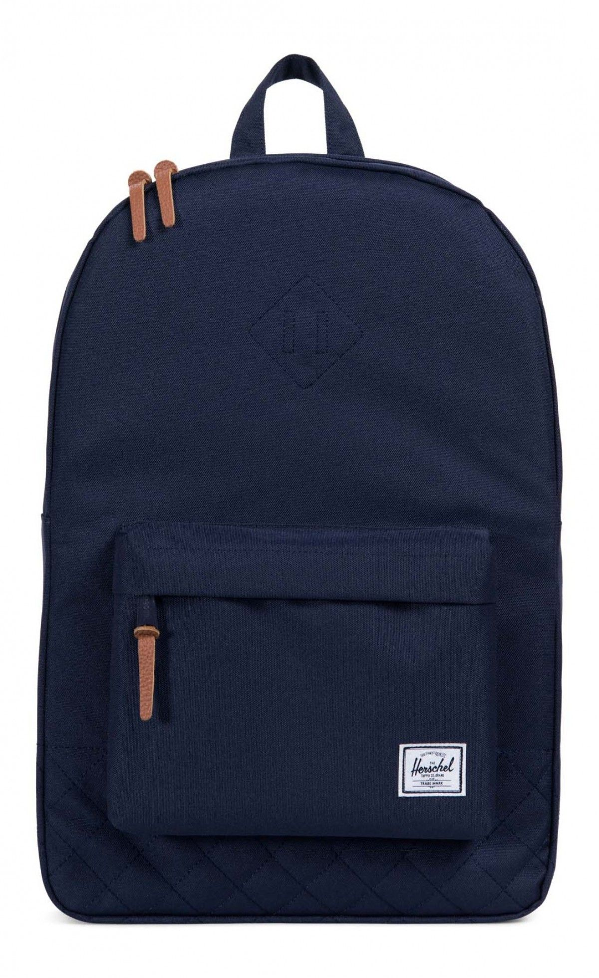 fc11754a34 Herschel Heritage Backpack Quilted Poly Peacoat Herschel Heritage Backpack