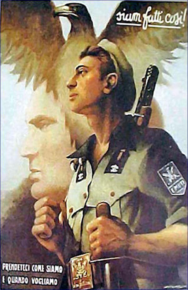 Italian WWII propaganda posters   ventennio   Pinterest   Ww2 ...