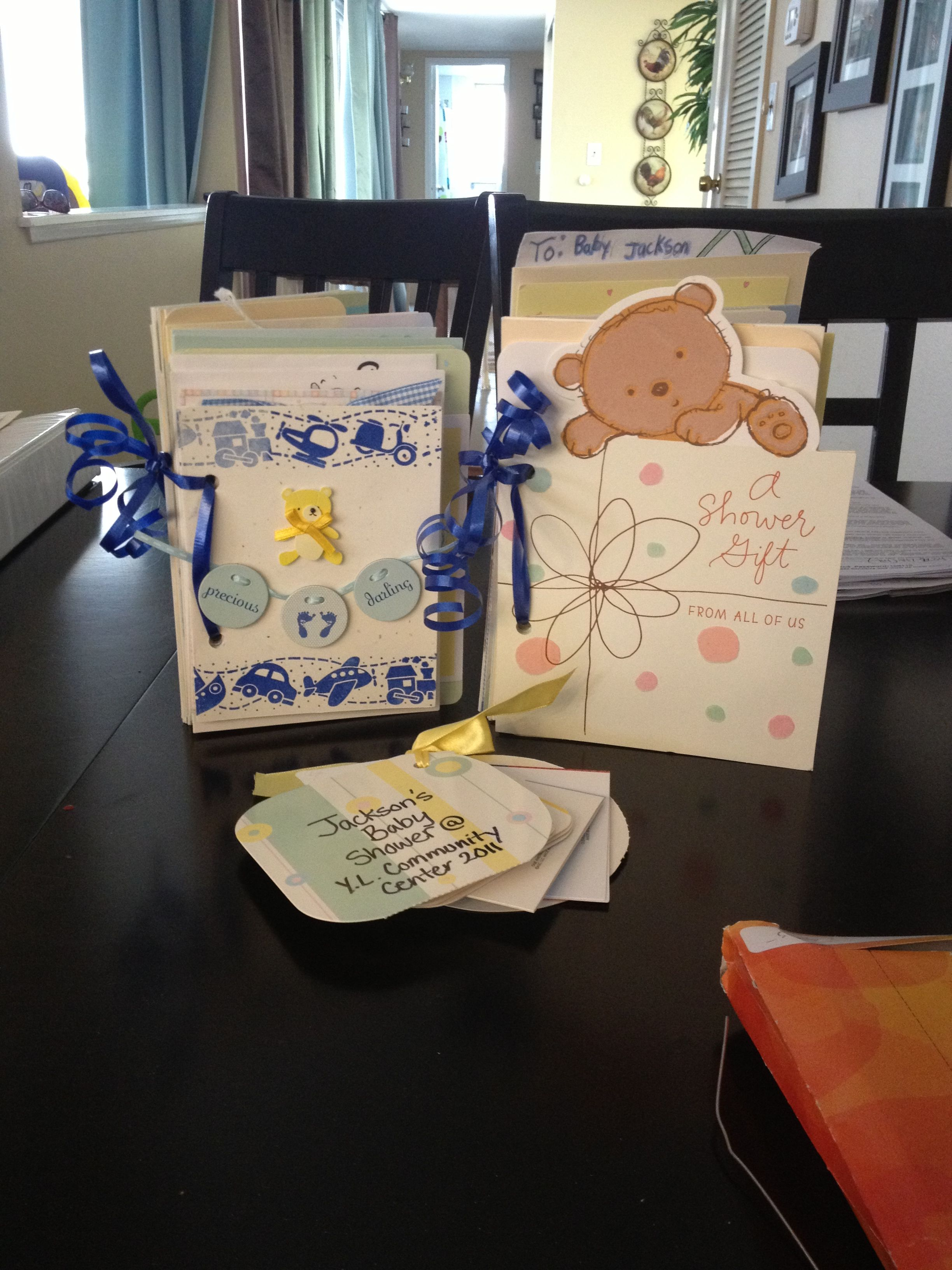 Cards made into books i have been holding on to all of the baby