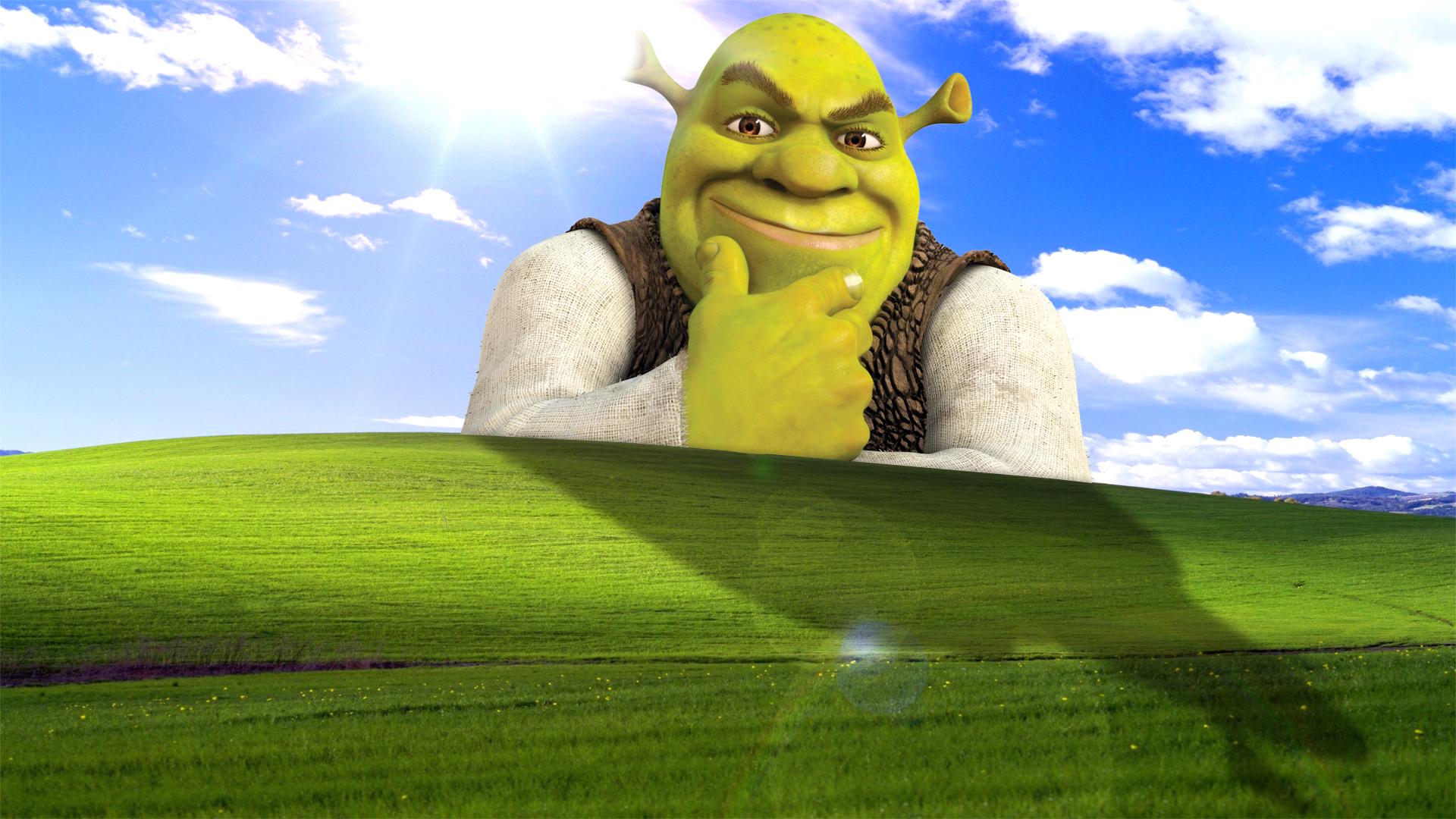 Meme Shrek Wallpaper Meme Background Shrek Cartoon Smoke