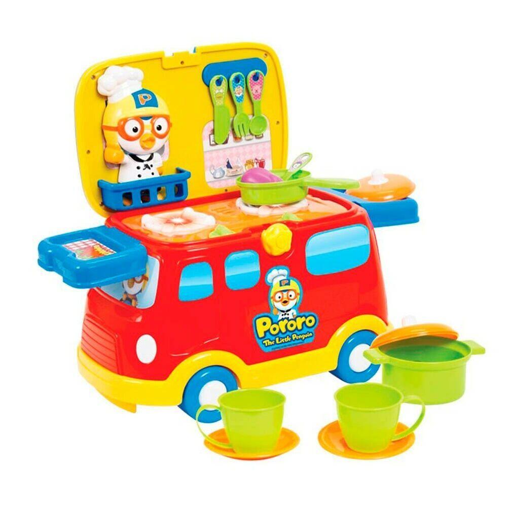 Pororo Happy House//Fun Play Kids Baby Toddler Toy Set Korean Character Animation