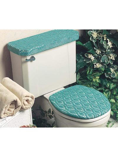 Crochet A Toilet Seat Cover Pinterest Crochet Patterns And Free