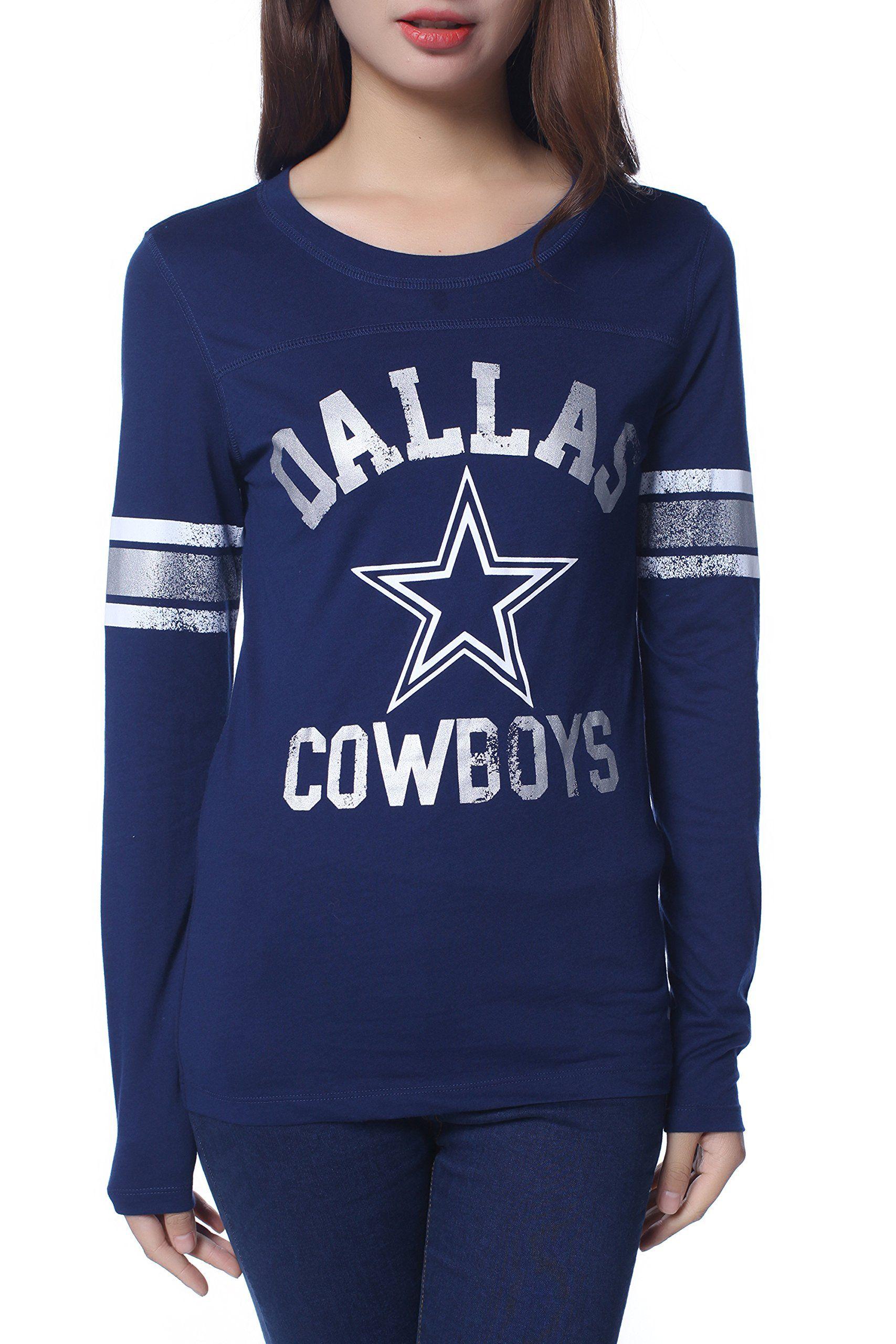 Womens Pink Victoria's Secret NFL Dallas Cowboys T-shirt Small