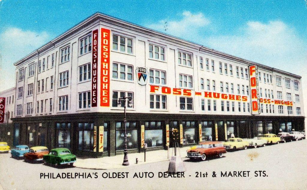 1950's FossHughes Company Ford Dealership, Philadelphia