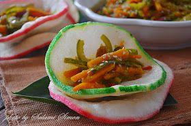 Amie S Little Kitchen Jom Cuba Resepi Acar Timun Sarawak Vegetarian Recipes Little Kitchen Food