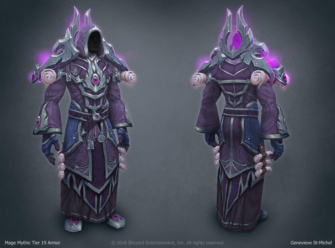 ArtStation Legion Mage Tier 20 Mythic, Genevieve St