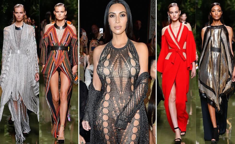 PFW: Balmain χωρίς Kardashian δεν γίνεται!