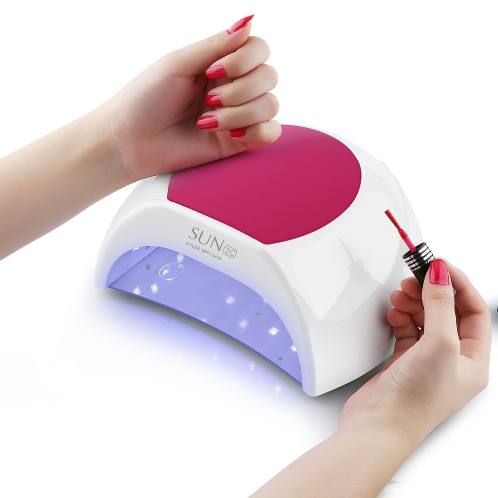 Jxkarin Sun2c Led Uv Lamp 48w Gel Manicure Nails Led Nail Lamp Cure Nails