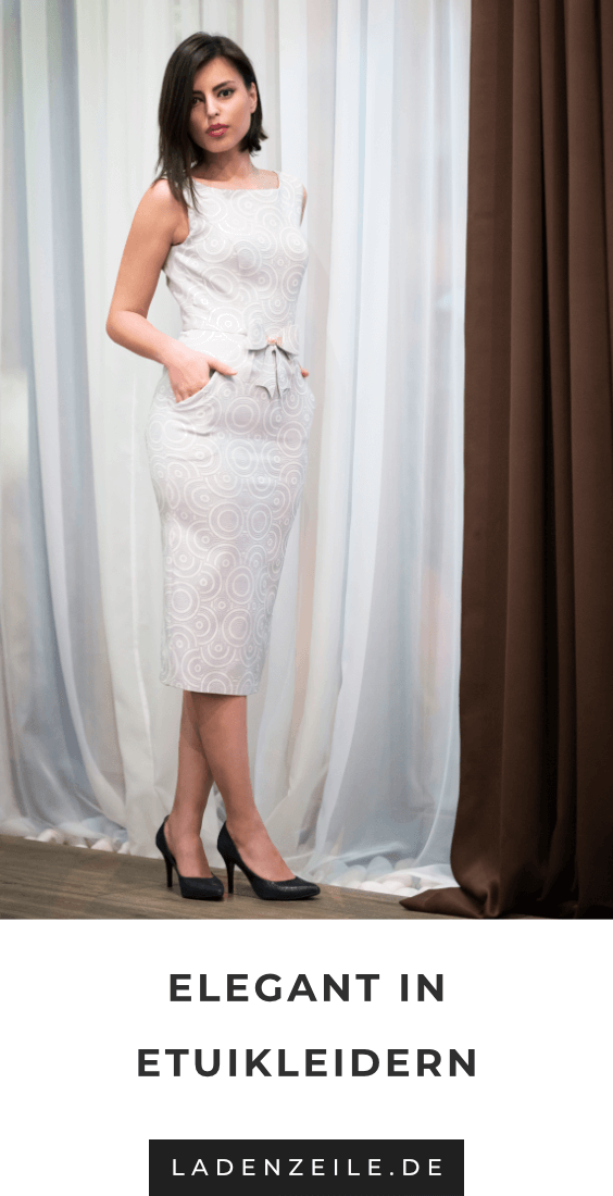 Etuikleider Etuikleid Modestil Elegante Mode