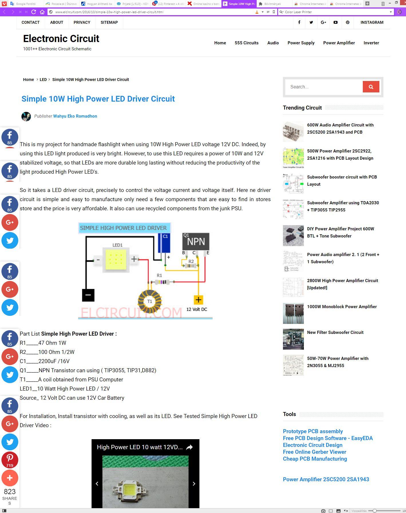 Pin By Mikorka Kalman On Kapcsolsok Pinterest Simple High Power Inverter 2n3055