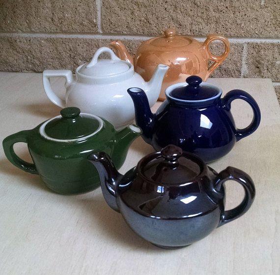 Bargain Vintage Individual Small Teapots Your Choice One Price Hall Teapots Shenonga Teapot Ta Japan Unmarked Tea Pots Tea Pots Vintage Vintage