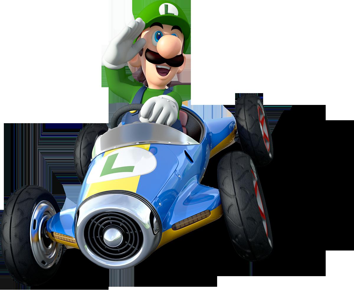 Super Mario Luigi 07 Imagens Png Mario Kart Mario Kart 8 Mario E Luigi