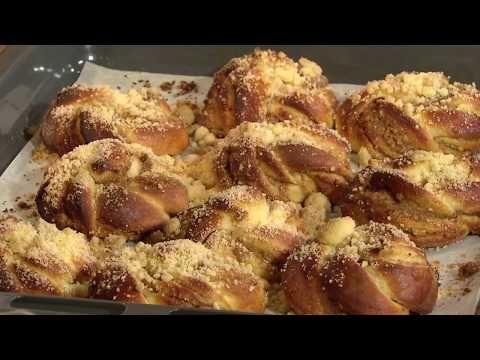 Słodka Kuchnia Pszczółek Bułeczki Drożdżowe Youtube