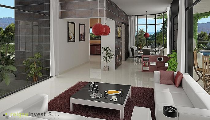 Plano 3d De Casa De Una Sola Planta Planos De Casas Gratis Y Departamentos En Venta Diseños De Casas Planos De Casas Casas De Un Piso