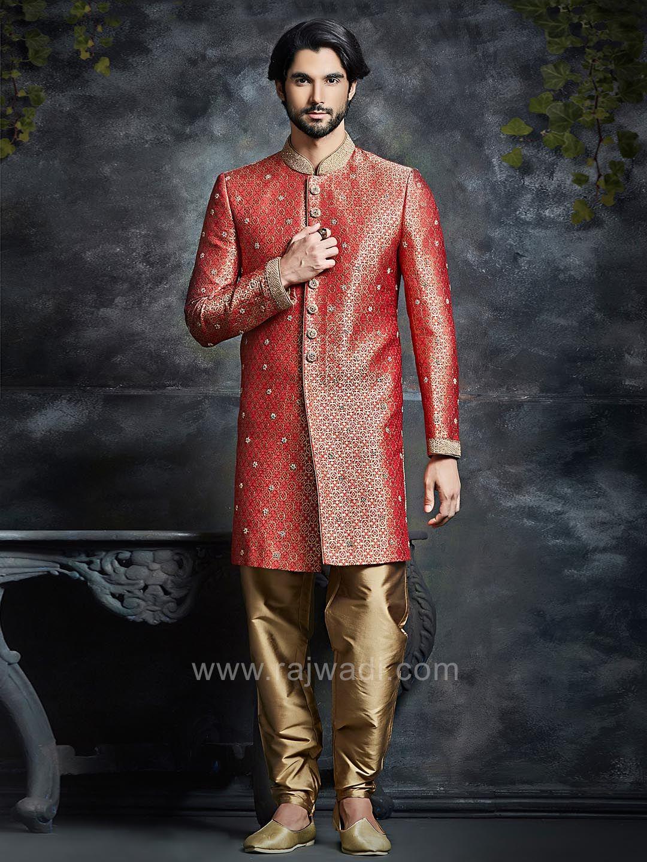 Royal brocade indo western rajwadi indowestern trendy