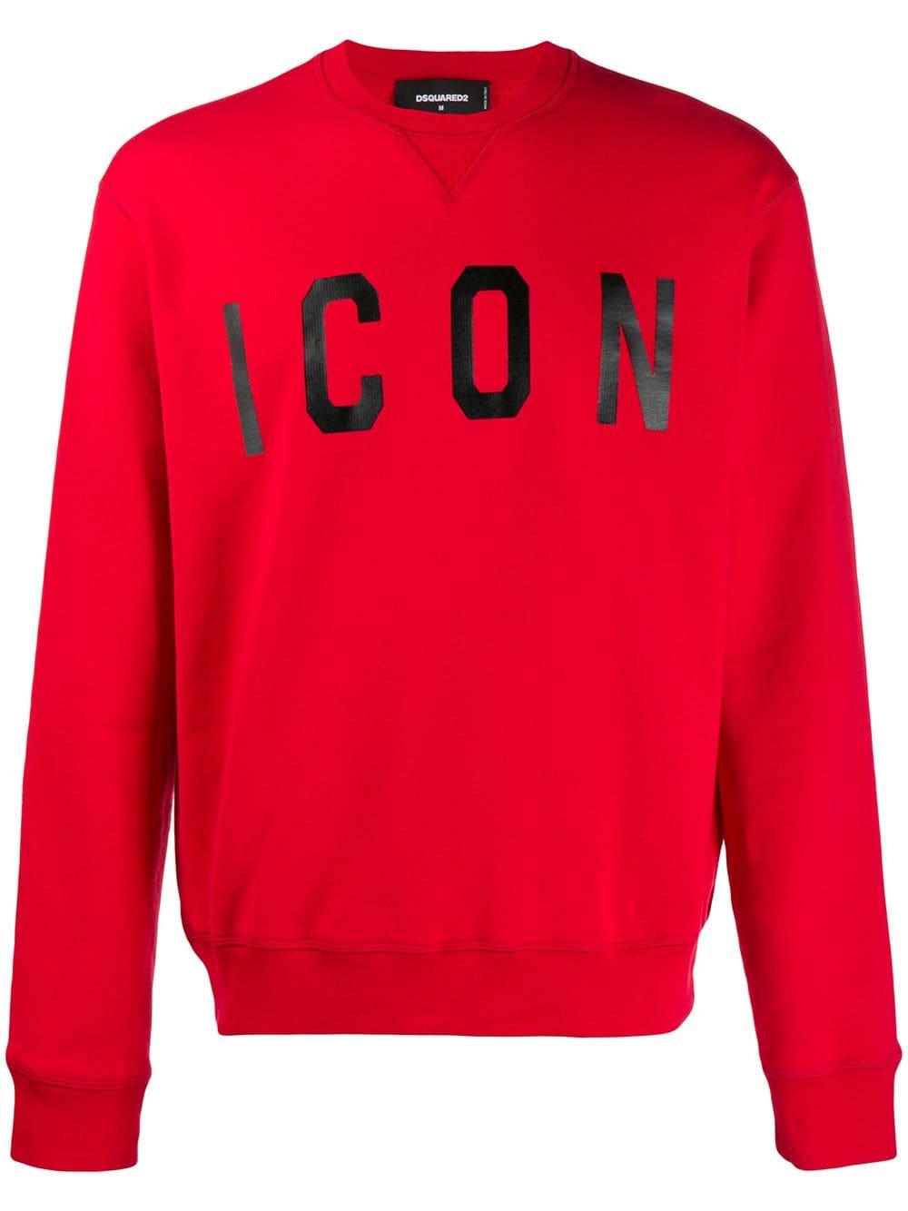 Dsquared2 Cool Fit Icon Graphic Sweatshirt In 970 Redblk Modesens Sweatshirts Dsquared2 Printed Sweatshirts [ 1334 x 1000 Pixel ]