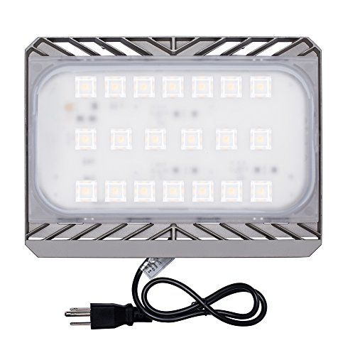Solla 100w Cree Led Flood Light Outdoor Security Lights 9000lm Warm White 3000k Super Bright Floo Outdoor Security Lights Outdoor Solar Lights Led Flood Lights