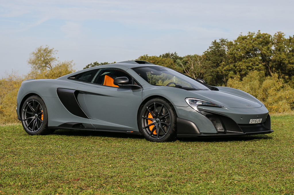 The McLaren 675 Long Tail has the highest estimated value of all the cars Kay is sending to auction. | Silverstone Auctions photo | ClassicCars.com Journal | #DriveYourDream | #ClassicCarsNews