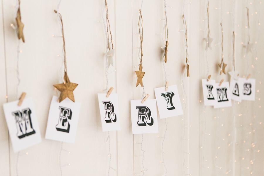 Christmas decorations inspiration | b.loved weddings