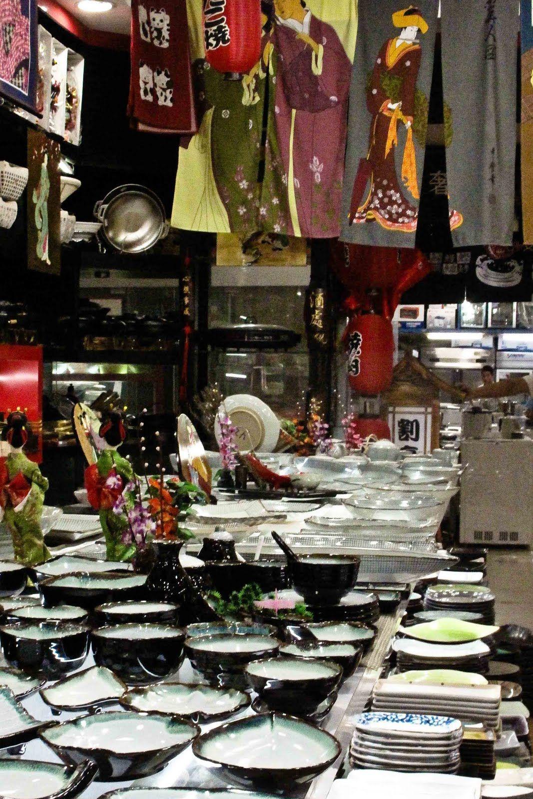 Shanghai's Kitchen Market QiLong JiuDian YongPin