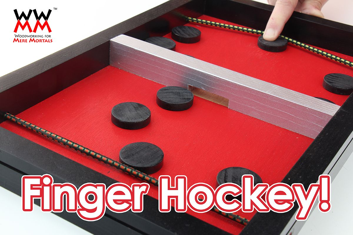 Fastrack hockey game. Homemade! Crafts for kids to make
