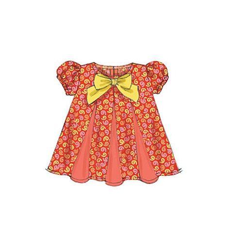d0591ab34cff8 BABY GIRL PATTERN / Make Dress - Panties - Sundress / Newborn to 24 Pounds