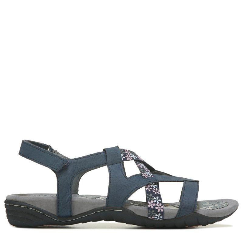 92e09380bf2 Jsport Women s Woodland Sandals (Navy)