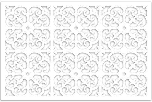 Snapfence 3 Ft H X 4 Ft W White Modular Vinyl Lattice Fence Panel 4 Pack Lattice Fence Panels Lattice Fence White Vinyl Fence