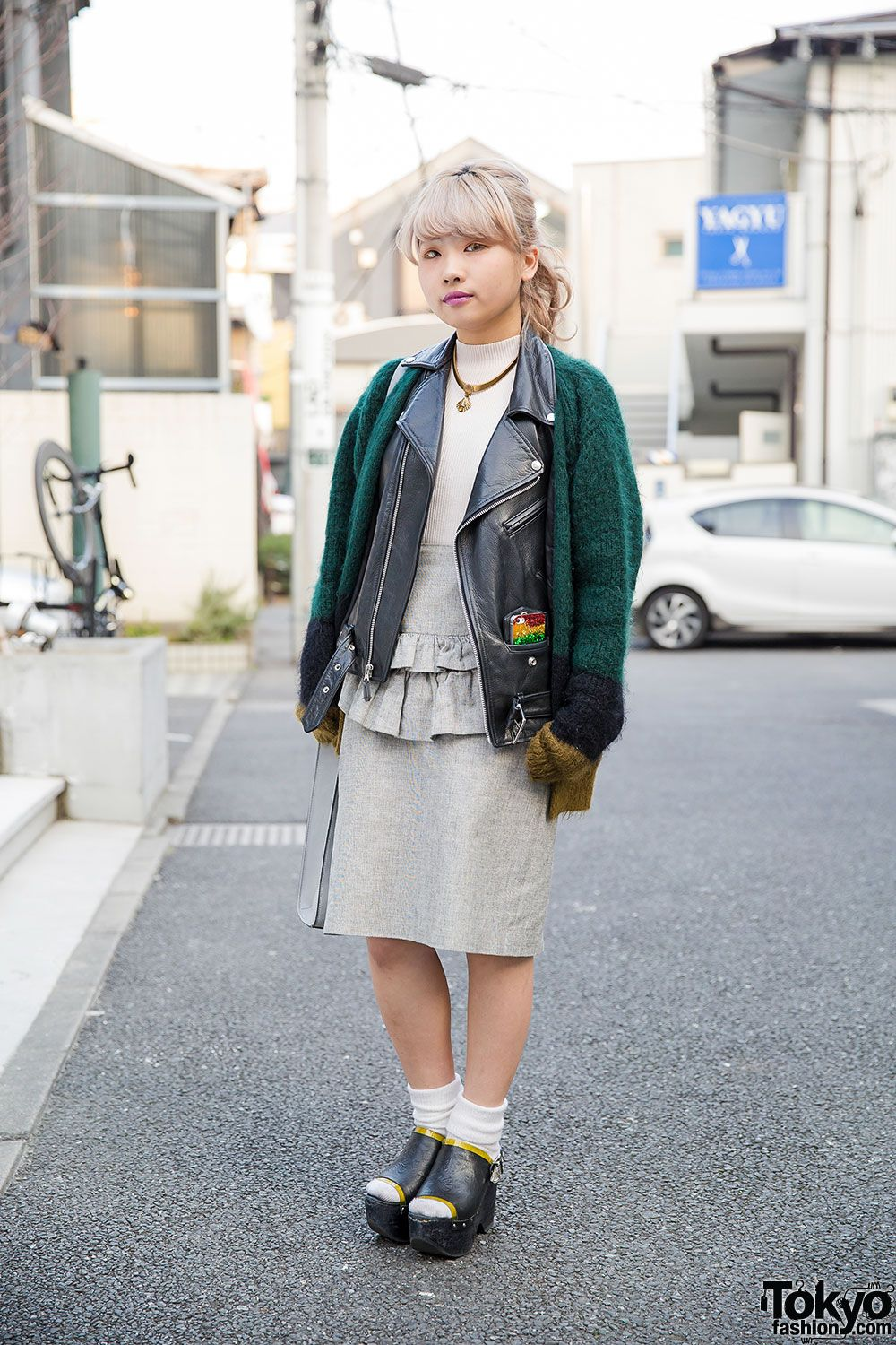dc922b4bdd9 Bubbles Harajuku designer Yuu with a pastel hairstyle