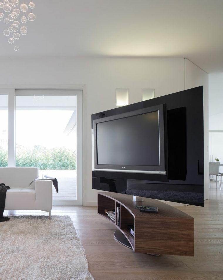 Resultado de imagen de paneles para tv plana colocaci n - Muebles para tv plana ...