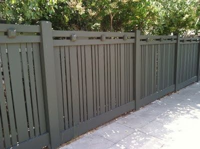 Image Result For Batten Slatted Fence Painted Backyard Fences