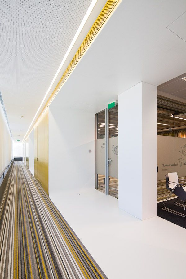 Fraunhofer Headquarters   Pedra Silva Architects Plafones techo - Techos Interiores Con Luces