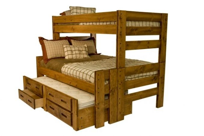 Young Pioneer Twin Full Bunkbed Bailey S Furniture Bunk Beds