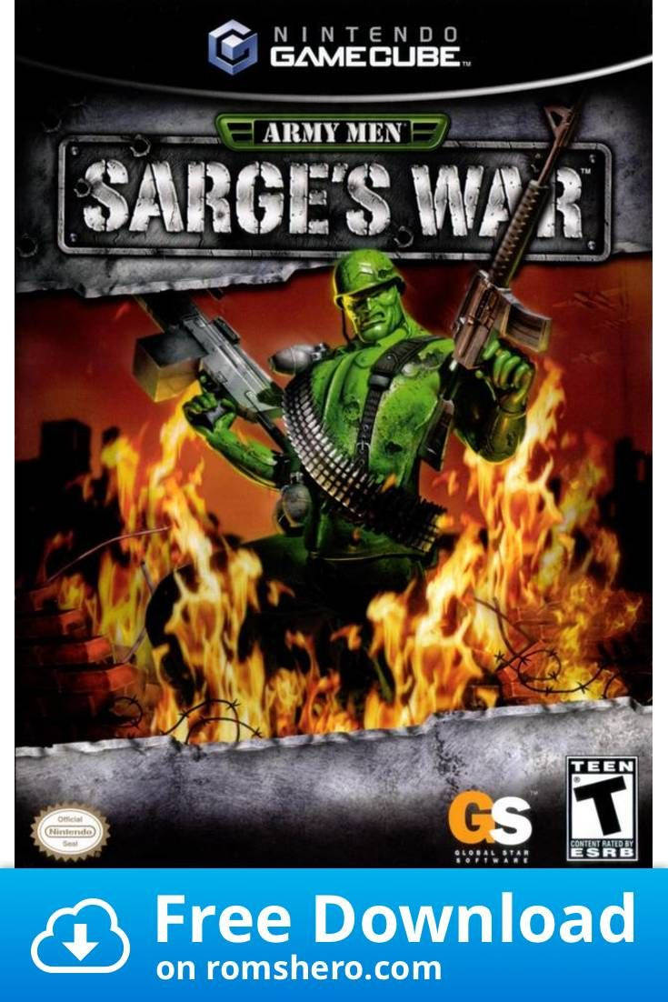 Download Army Men Sarge's War GameCube ROM Army men