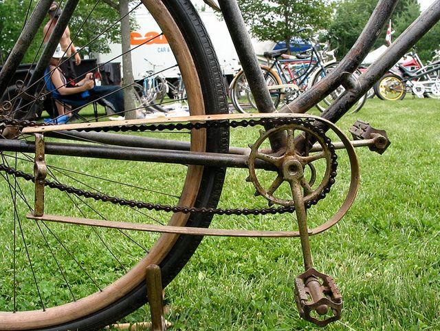 Wood Bike Chain Guard Wood Bike Antique Bicycles Bike Chain