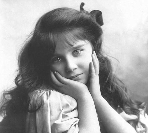 Young Lady Elizabeth Bowes-Lyon (later Queen Elizabeth the Queen Mother).