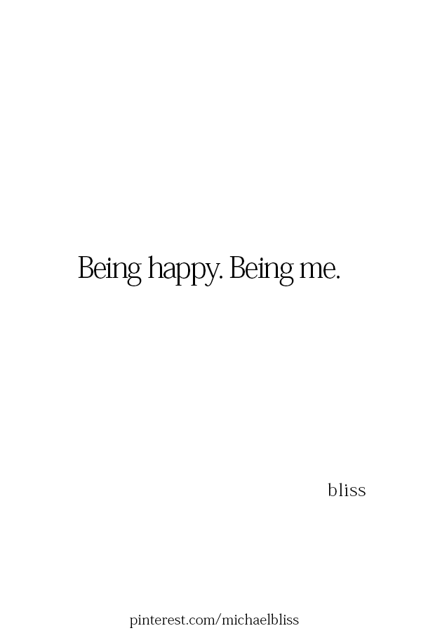 being happy being me caption quotes