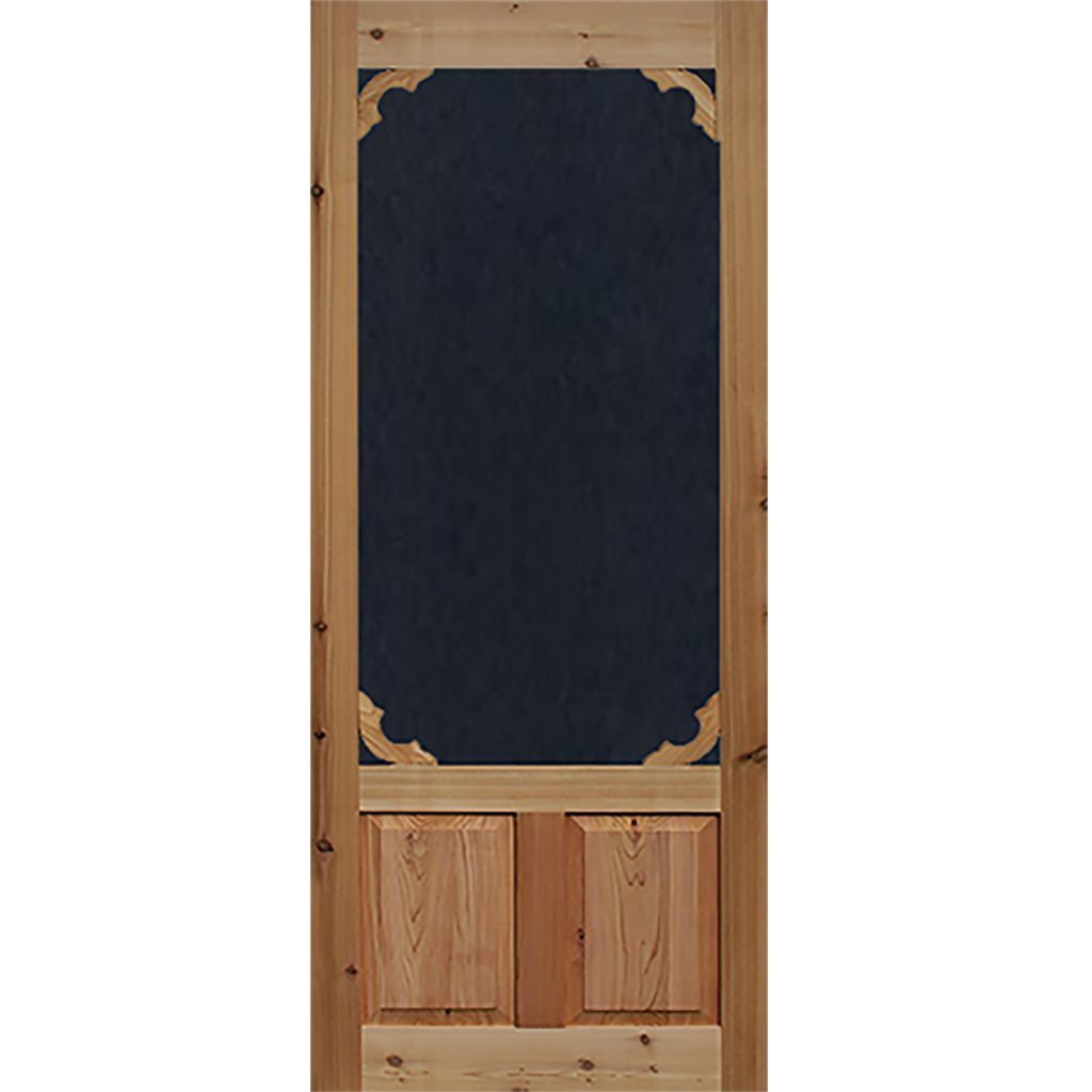 Screen Storm Door Cedar Woodland Wood Doors Interior Wooden Screen Door Aluminum Screen Doors