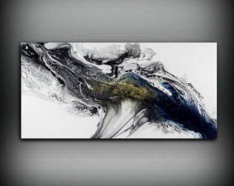 modern painting acrylic painting 30x60 art print abstract painting