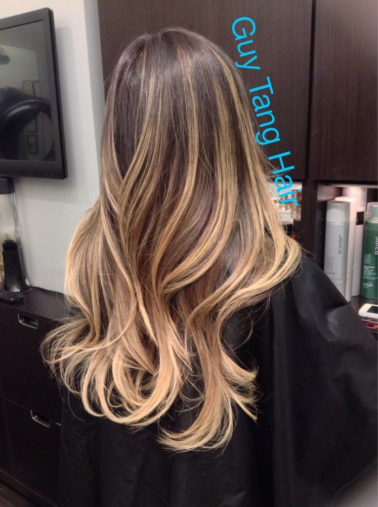 1a25971b629f3 Dimensional ombré by Guy Tang | Yelp | Hair! | Hair, Brown ombre ...