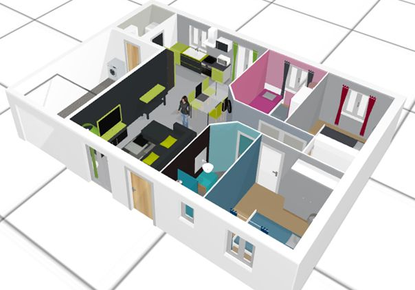 plan 3D déco en 2018 Pinterest How to plan - Faire Un Plan De Maison En 3d